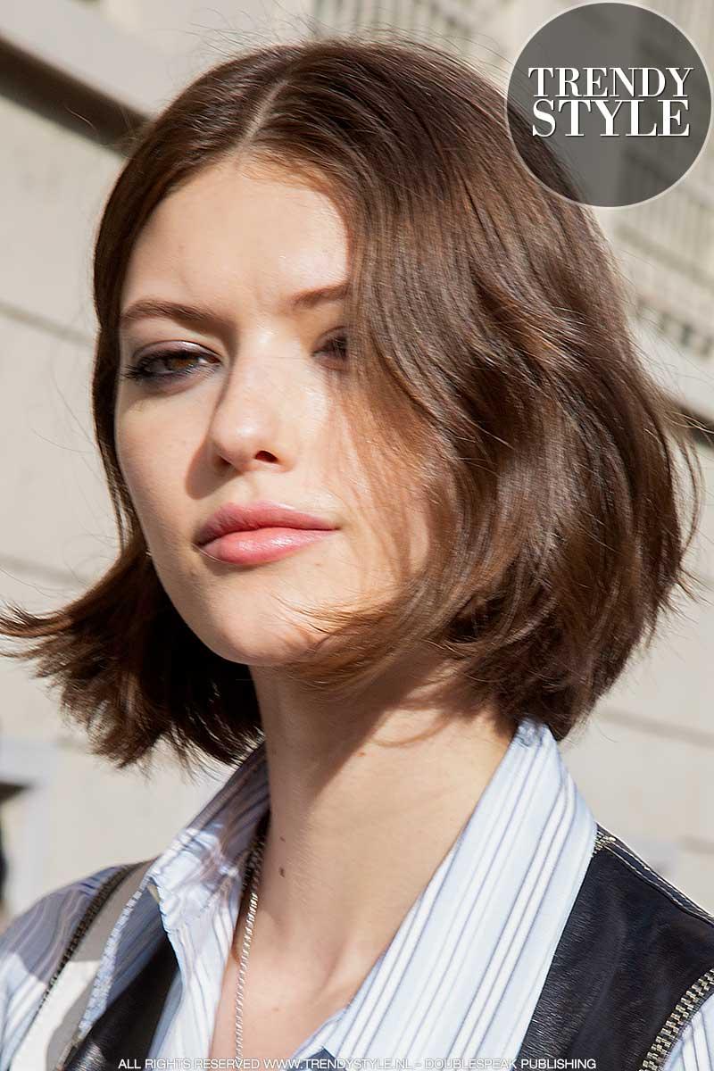 Haartrends 2021. Halflange kapsels