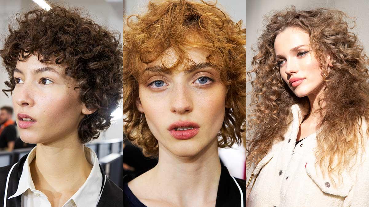Haartrends herfst winter 2020. Trendy haarsnitten voor krullend haar