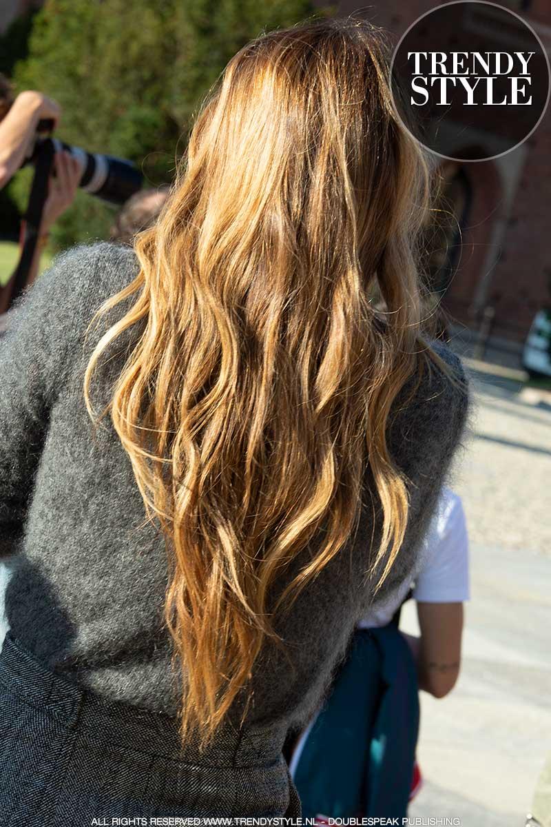 Haartrends 2021. Kapseltrends; lang haar