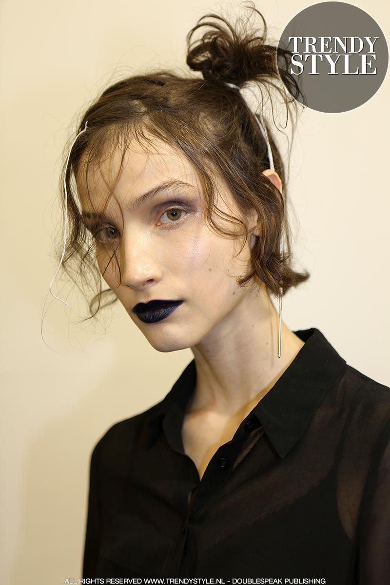 Halloween. Make-uplooks van de catwalk