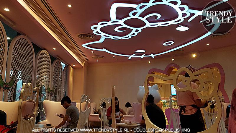 Sanrio Hello Kitty House in Bangkok