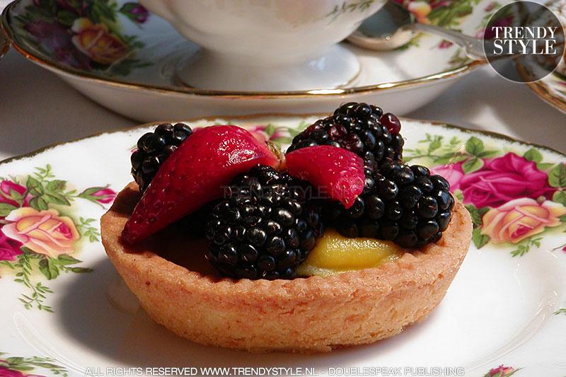 Zandtaartje met fruit