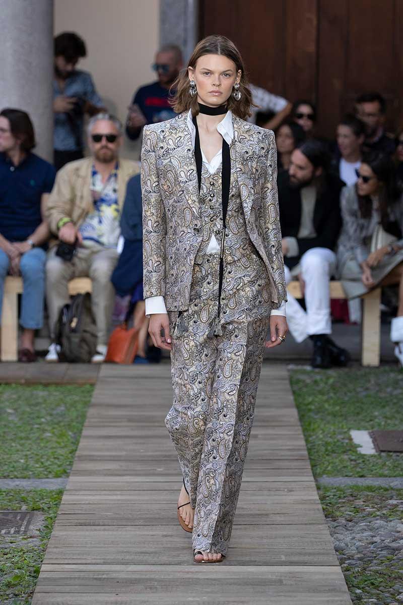 Modetrends lente zomer 2020. Paisley patronen