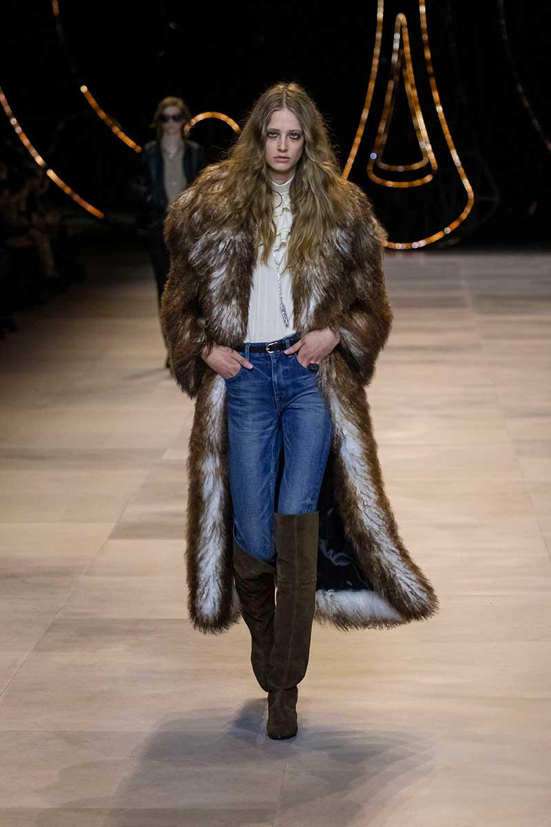 Spijkerbroeken trends winter 2020 2021. Skinny jeans