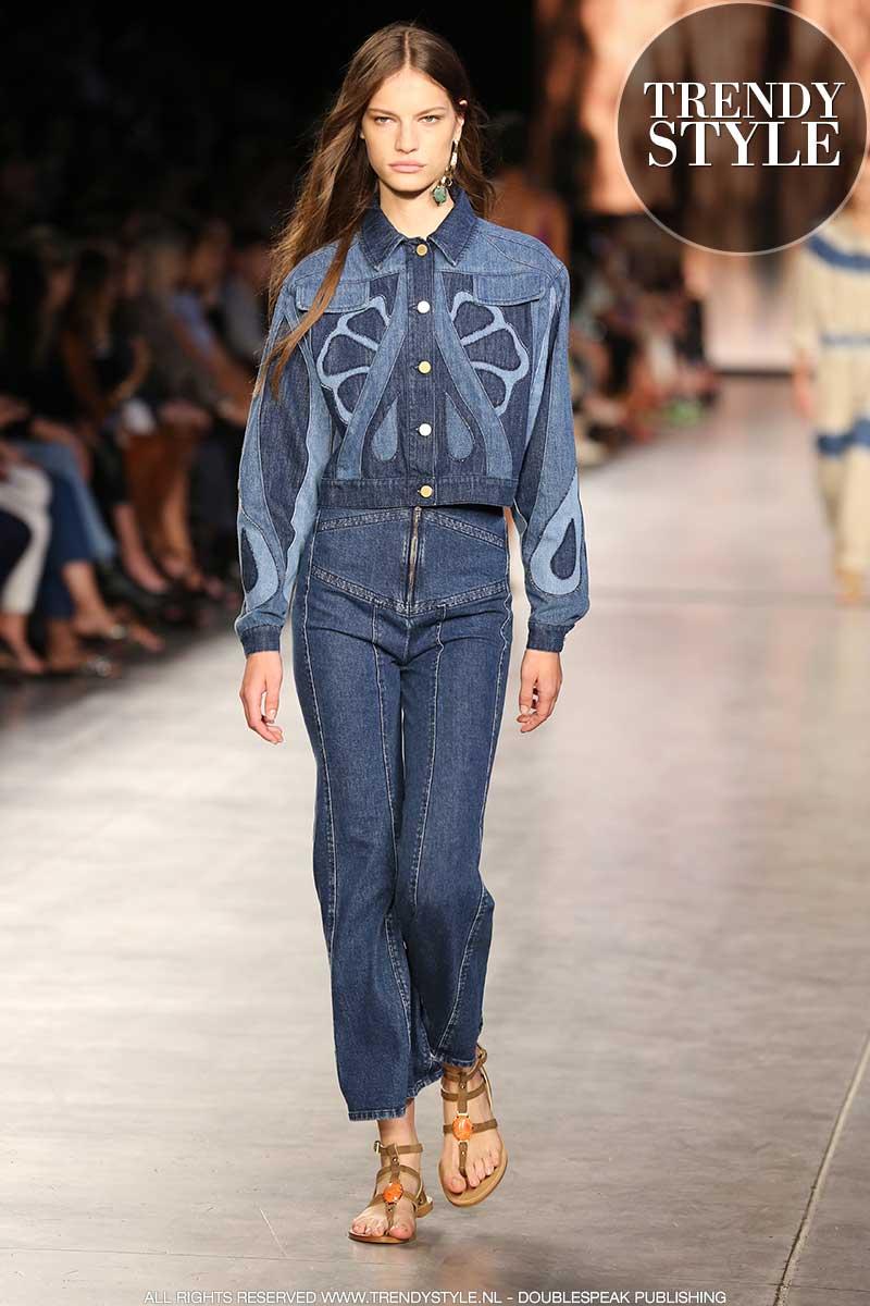 Denim trends lente zomer 2020. De nieuwste jeans trends en denim kleuren