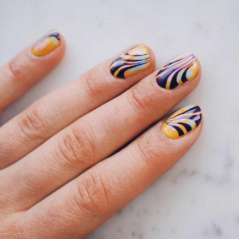 Nail art door Jessica Scholten. Foto: courtesy of Jessica