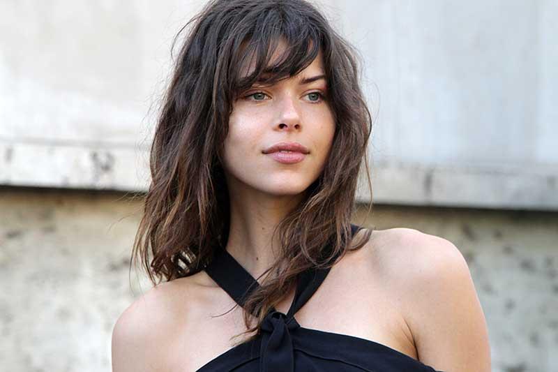 Grunge kapsel lang haar