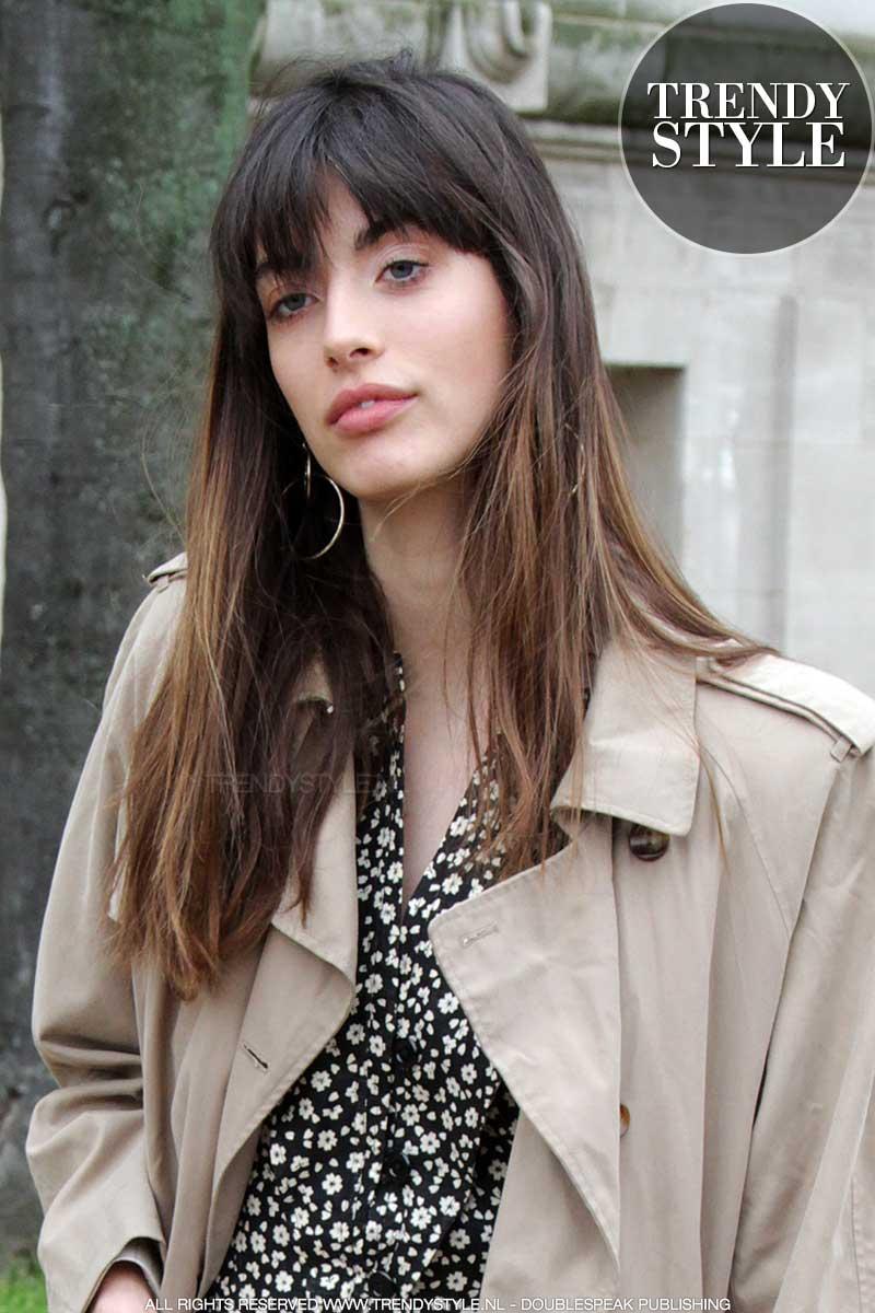 Lang haar kapsel