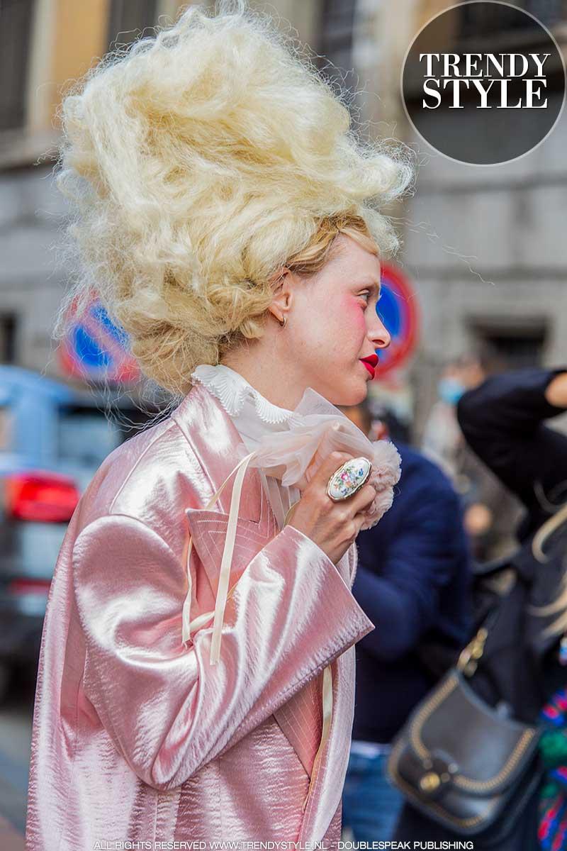 Kapseltrends winter 2020 2021. De meest bizarre hair looks van 2020