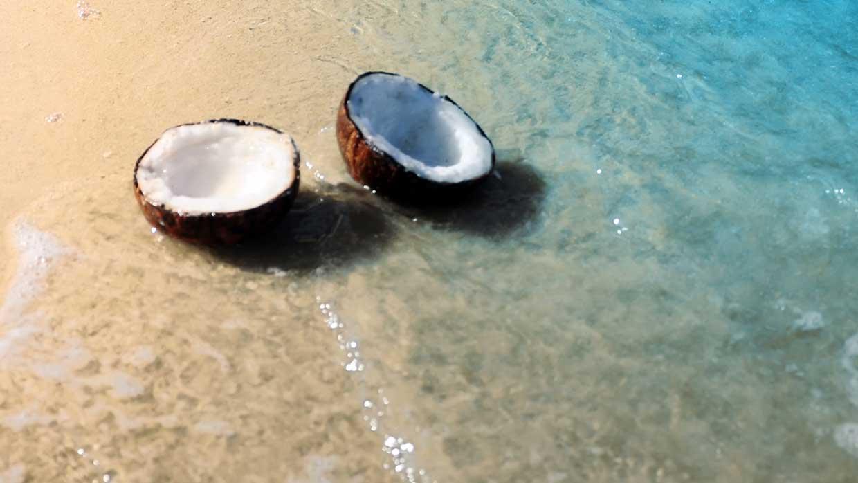 Haar blonderen? Prep je haar met kokosolie!