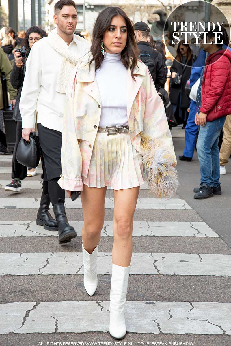 Streetstyle mode 2020. 3x Minirokken en shorts