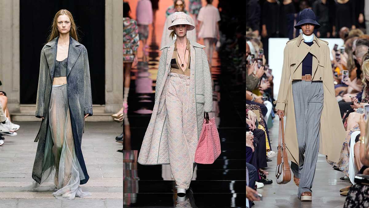 Modetrends lente zomer 2020. Lange zomerjassen