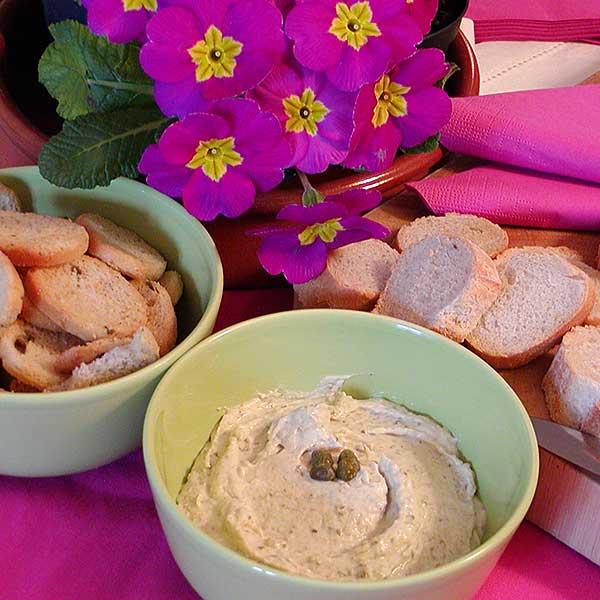 Liptauer-crème voor bij het aperitief