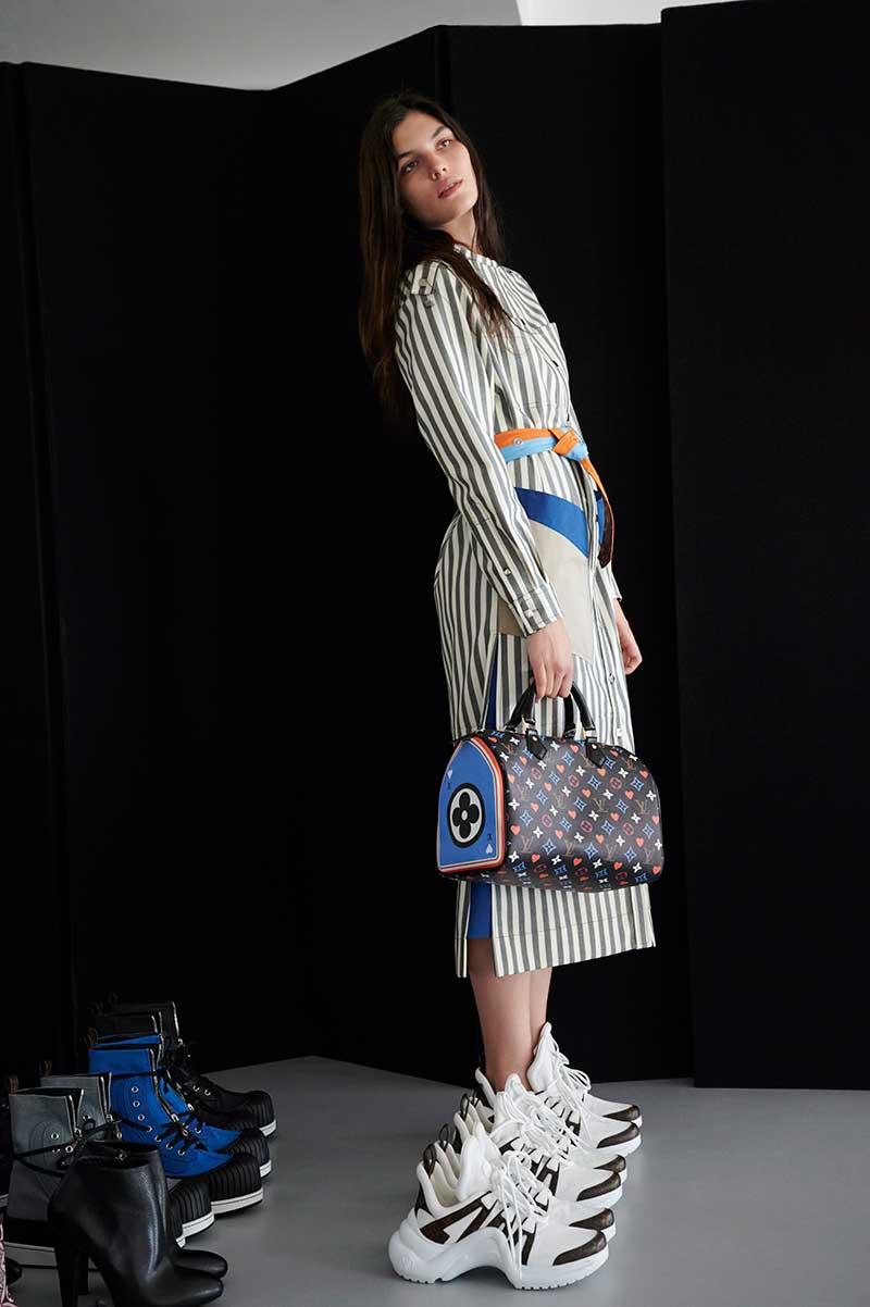 Modetrends voorjaar 2021. Cruise 2021 Collectie Louis Vuitton. Photo: courtesy of Louis Vuitton