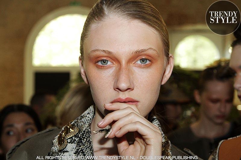 Warme make-up kleuren zomer 2019