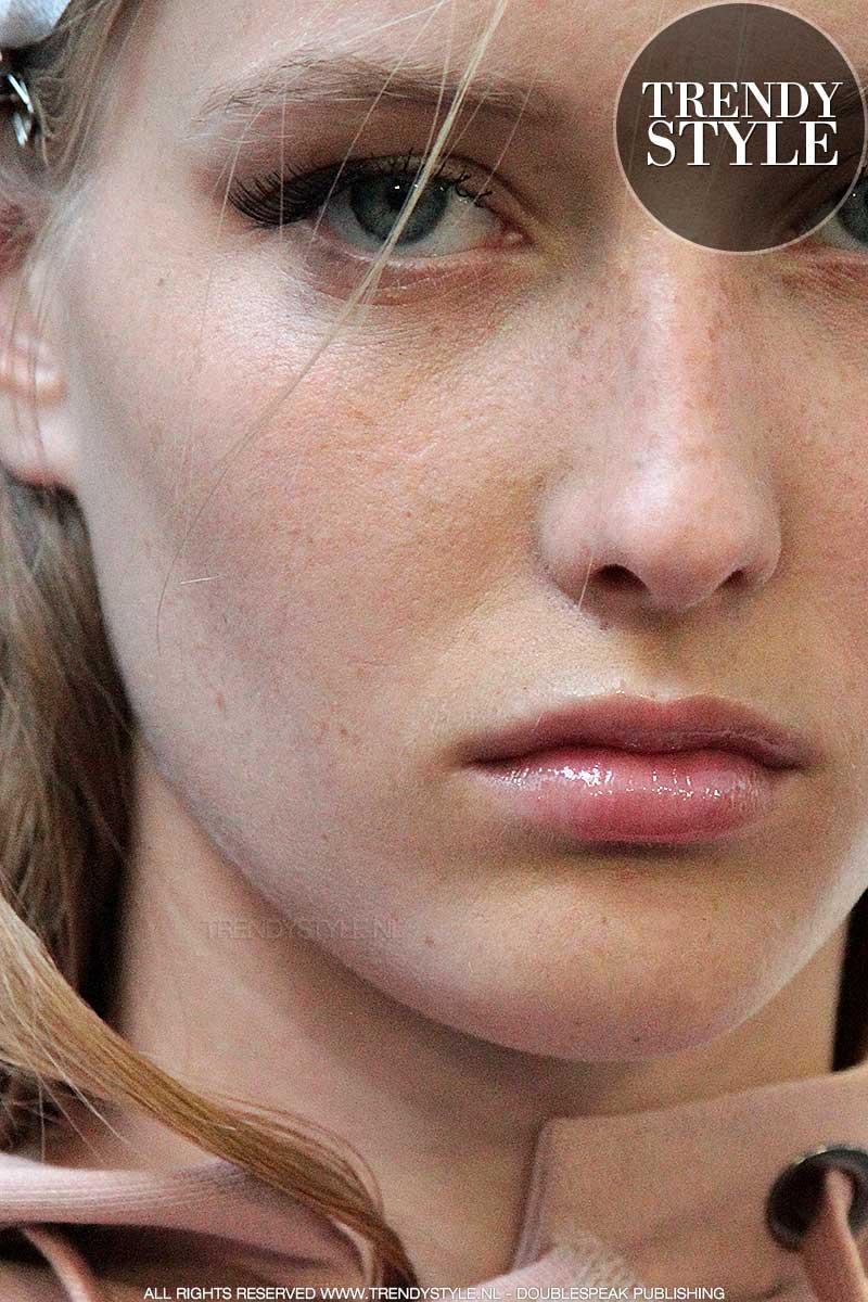 Stralende catwalk huid