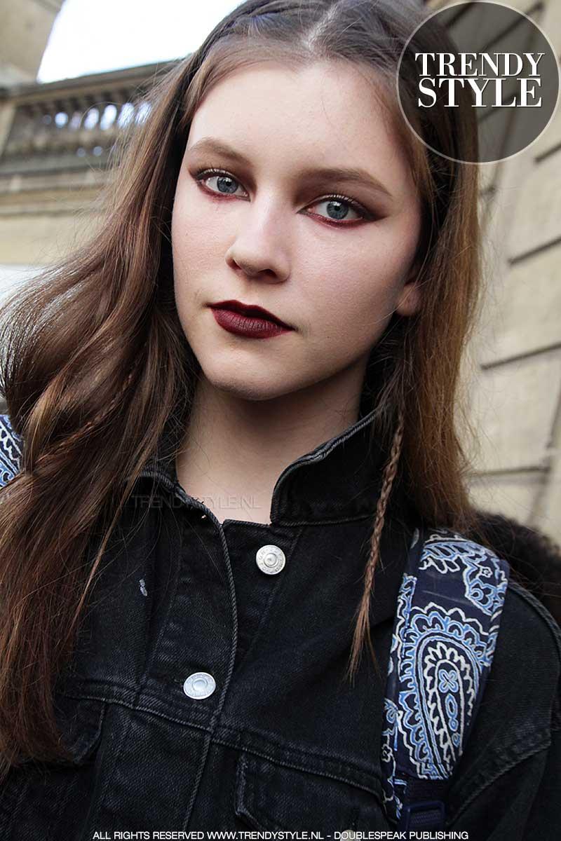 Make-up bij Valentino FW 2017 2018