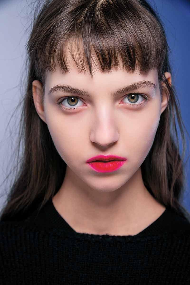 Rode lippenstift