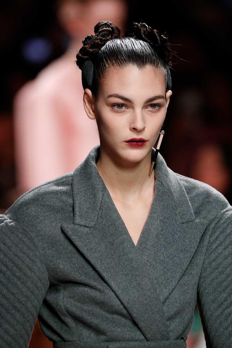 Make-up trends herfst winter 2020 2021. Rode lippenstift