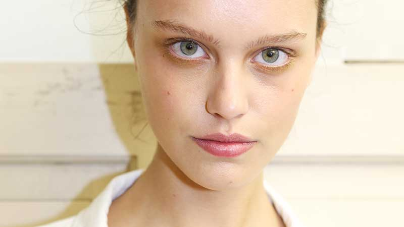 Make-up trends lente zomer 2020. No foundation huidjes