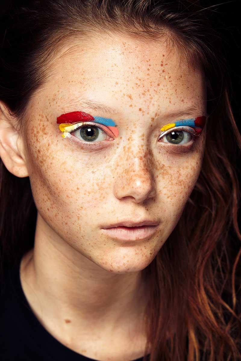 Make-up trends lente zomer 2020. Felle oogmake-up