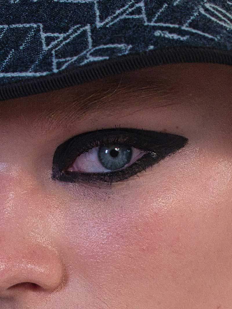 Make-up trends 2021. Eyeliner en smokey