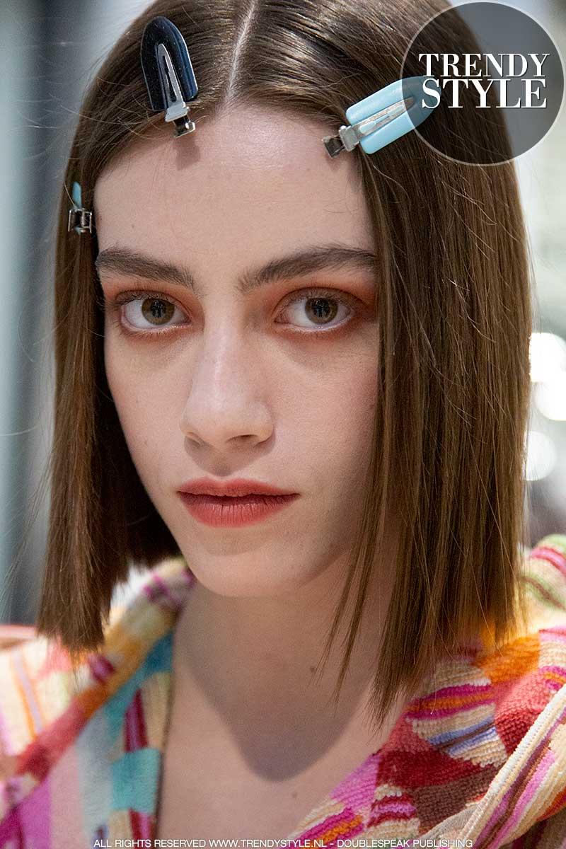 Make-up trends winter 2020 2021. Bronzen oogschaduw voor blauwe én bruine ogen
