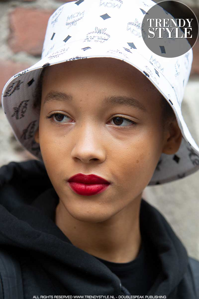Make-up trends 2021. Trend alert: rode lippenstift