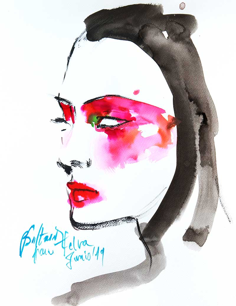 Make-up trends zomer 2021. De comeback van blush