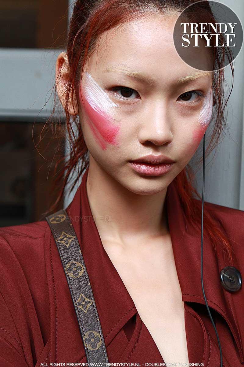 Gekleurde make-up