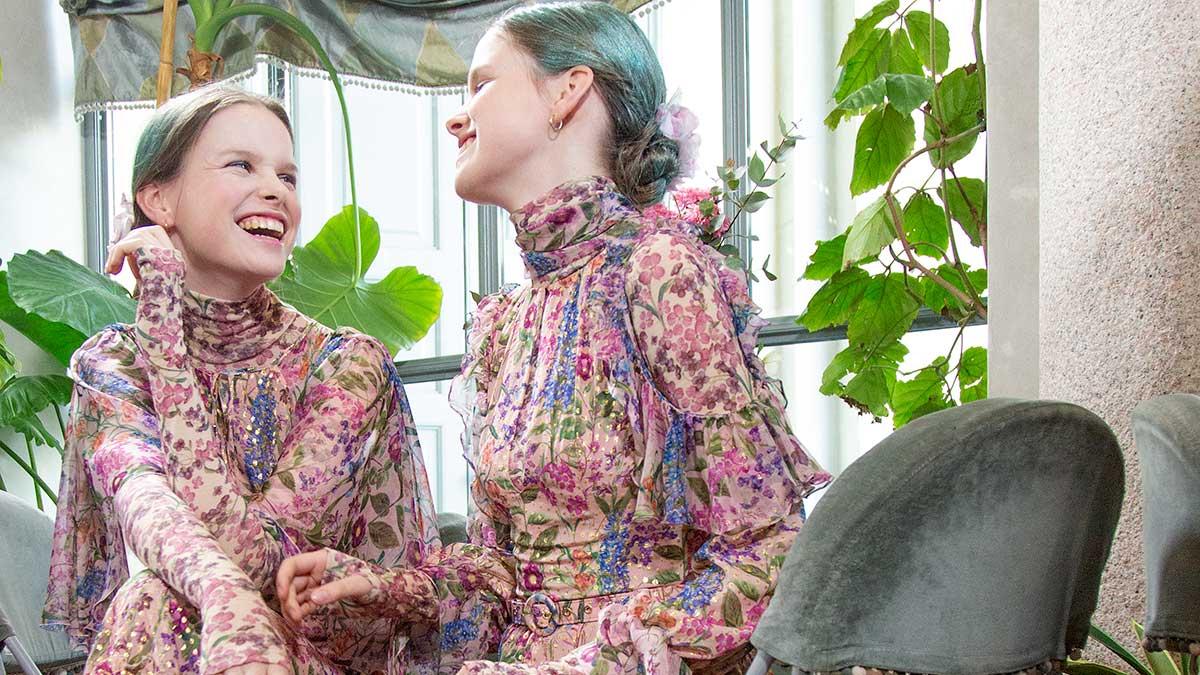 Modetrends lente zomer 2020. Forale fantasieën en micro prints