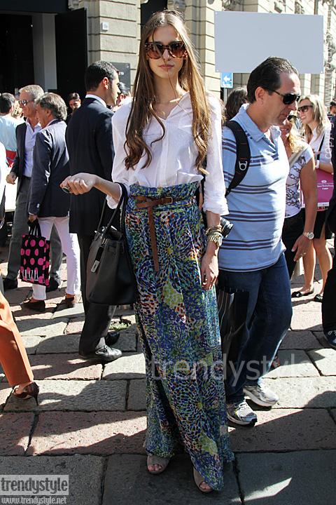 Streetstyle Gucci zomer 2012