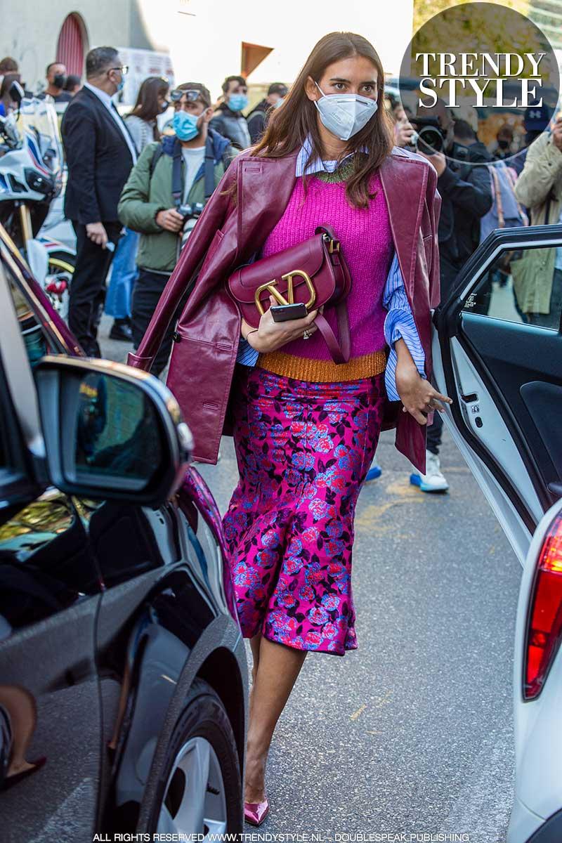 Milan Fashion Week lente zomer 2021. Valentino Fashion Show in Milaan