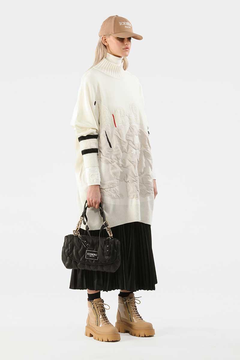 Modetrends winter 2021 2022. De allernieuwste modetrends. Photo: courtesy of Iceberg