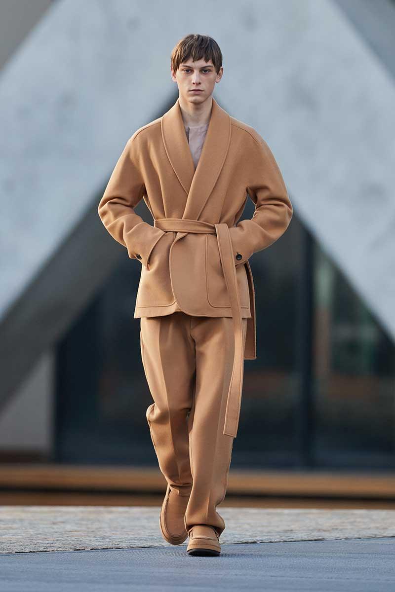 Modetrends winter 2021 2022. De allernieuwste modetrends. Photo: courtesy of Ermenegildo Zegna