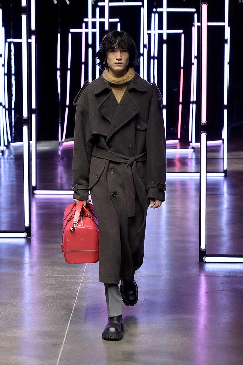 Modetrends winter 2021 2022. De allernieuwste modetrends. Photo: courtesy of Fendi