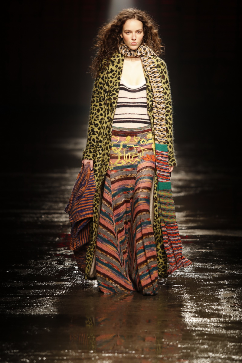 Missoni herfst winter 2018 2019, photo: courtesy of Missoni