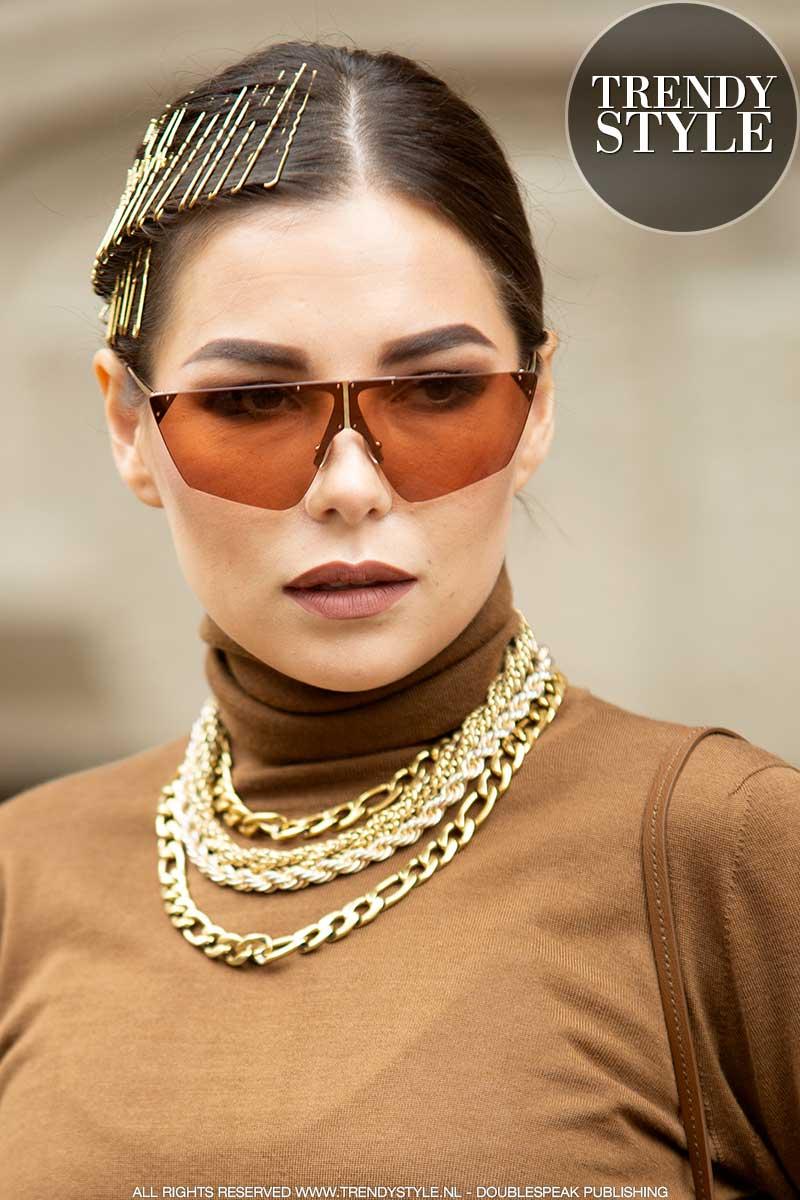 Mode accessoires winter 2020 2021. Kettinkjes, oorbellen, haarsieraden