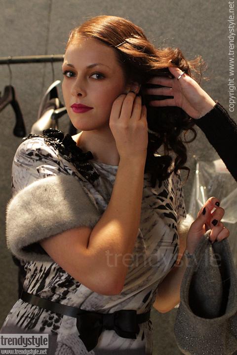 Volslanke modellen bij Elena Mirò