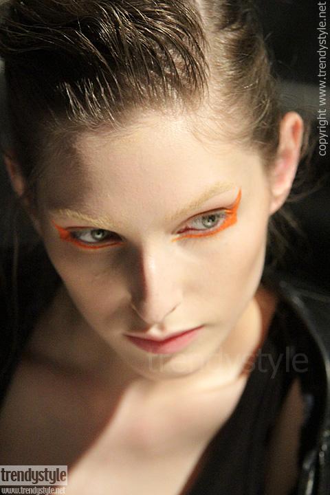 Pop art make-up bij Albino