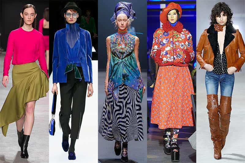 Mode trends vrouw winter 2017 2018