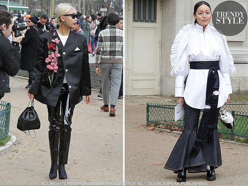 Mode. Zwart met wit. De succesformule van Coco Chanel
