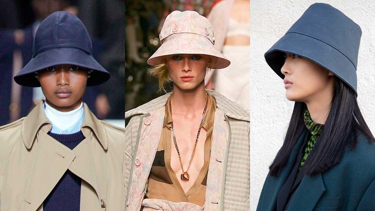 Modeaccessoires zomer 2020. Vissershoedjes, emmerhoedjes, bucket hats