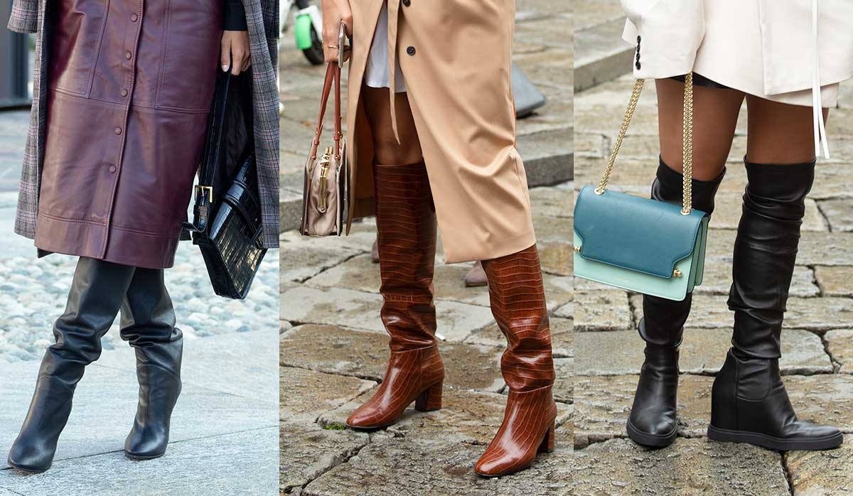 Laarzen trends winter 2020. Zo draag je hoge laarzen!