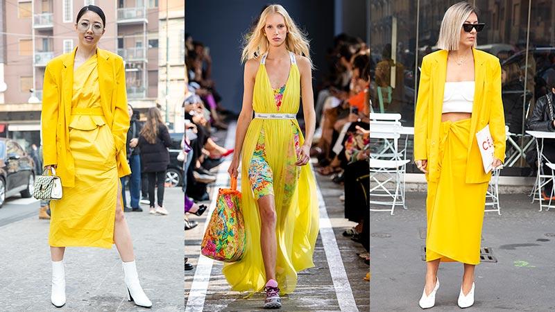 Modekleur geel 2019