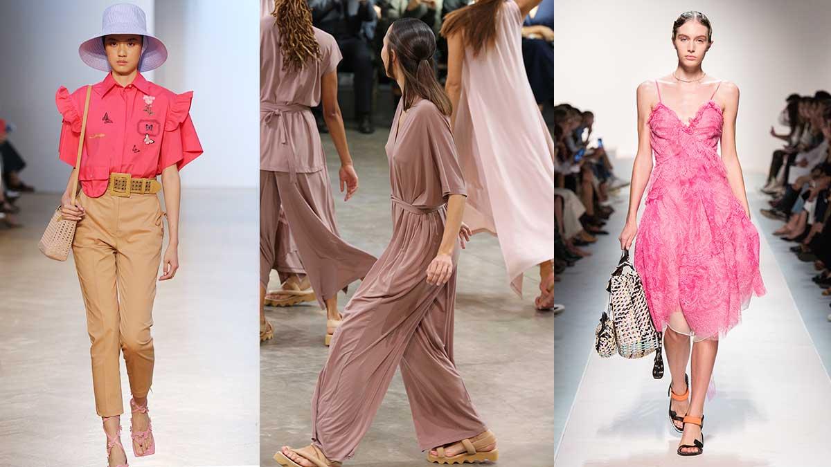 Hedendaags Modekleuren lente zomer 2020. De modekleur roze | TRENDYSTYLE TS-38