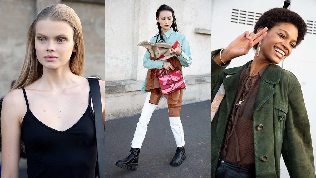 Modetrends lente zomer 2020 en fashion modellen