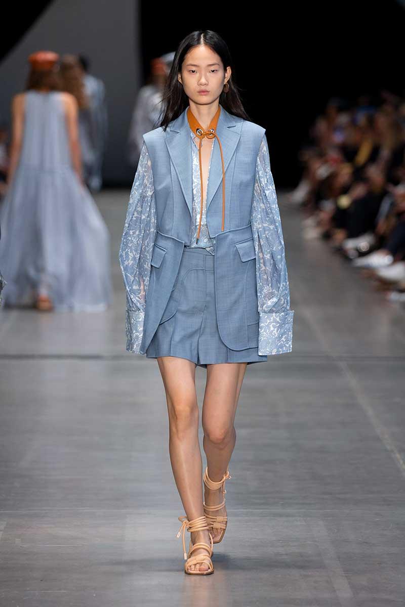 Modetrends lente zomer 2020. Bandjes rond je broekspijpen