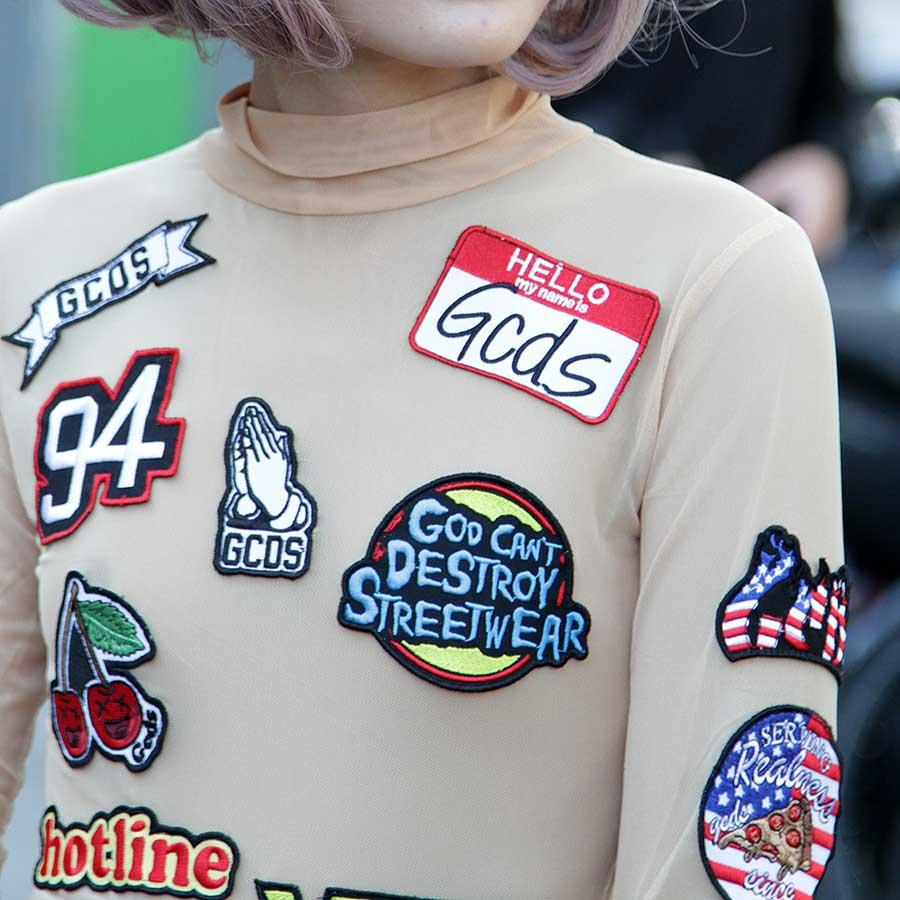Modetrend: patches, badges en emblemenModetrend: patches, badges en emblemen