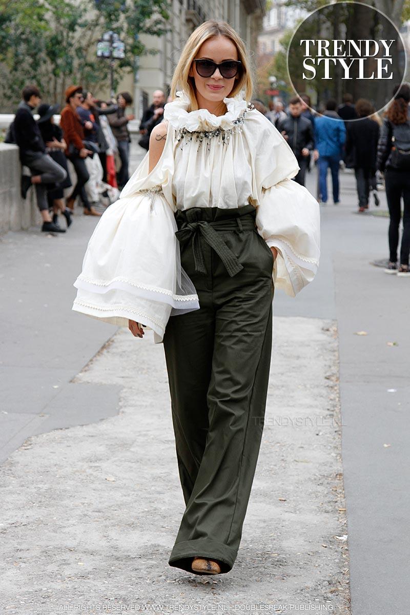 Modetrend: zwart wit combinaties (met een scheutje blauw ...